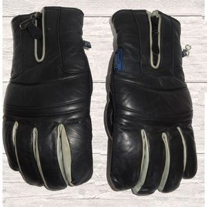 Other - MENS  LEATHER SKI GLOVES SIZE M